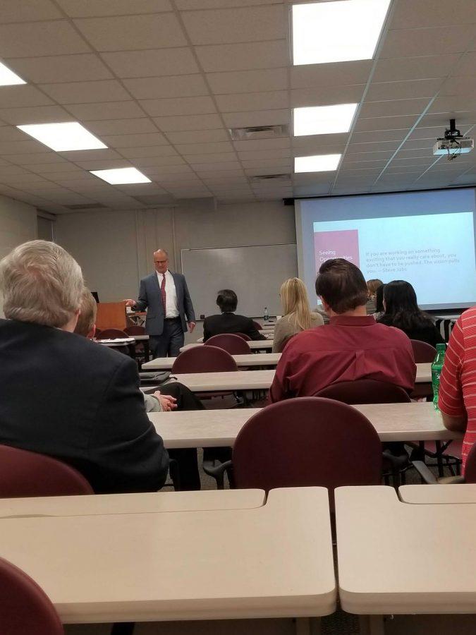 Christopher Shook candidate presentation