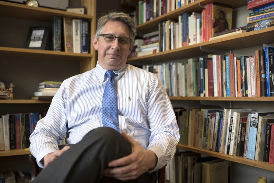 Dr. Larry Snyder will resign as dean of Potter College effective March 27, 2019, according to an email sent by Provost Terry Ballman on Tuesday. Gabriel Scarlett/HERALD