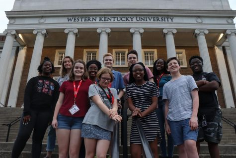 The 11 students from the Xposure High School Journalism Workshop 2019. These students spent nine days learning how to improve their journalism skills through writing and editing. Each year, student come to this workshop from all across the nation. Sam Upshaw Jr.