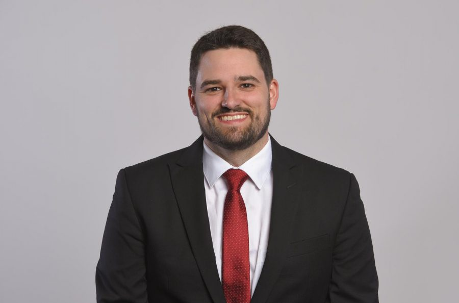 Zach Greenwell, associate athletic director for communications and media relations, began his new position in June 2019.