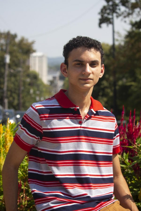 Andre Casanova, from Cuba, came to the U.S. at the age of 8. His family suffered through hardships including homelessness, but today Casanova is a sophomore at WKU with hopes of making a better life for himself and his family.