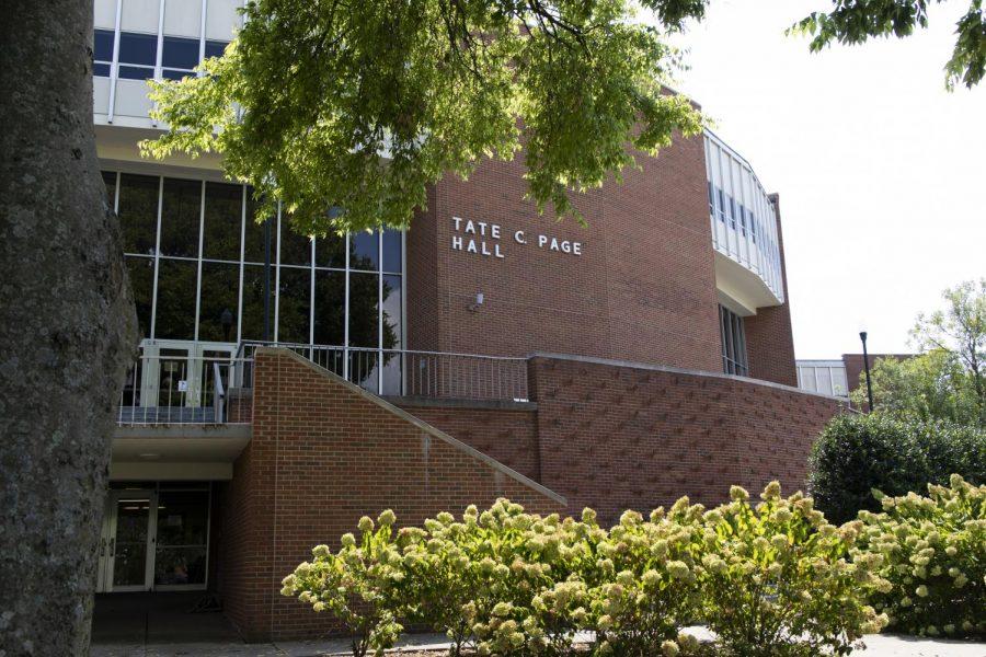 Tate Page Hall.