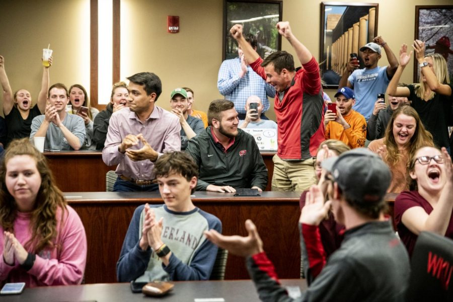 Student Government Association's first meeting of the semester yields 5 confirmations