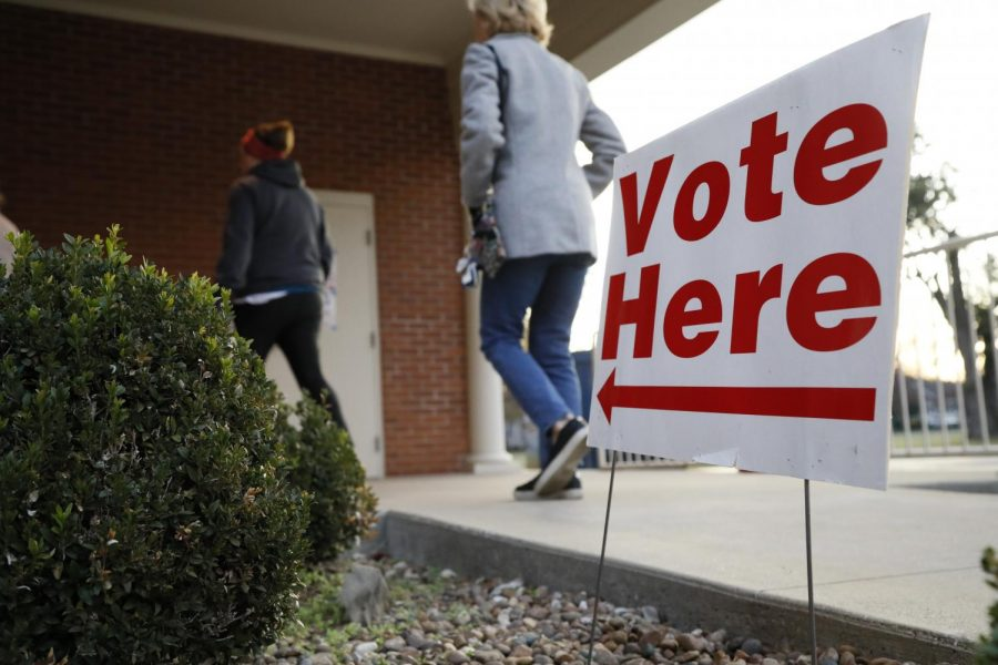 Voters roll into the polls early on Nov. 5, 2019, for Kentucky's 2019 general election.