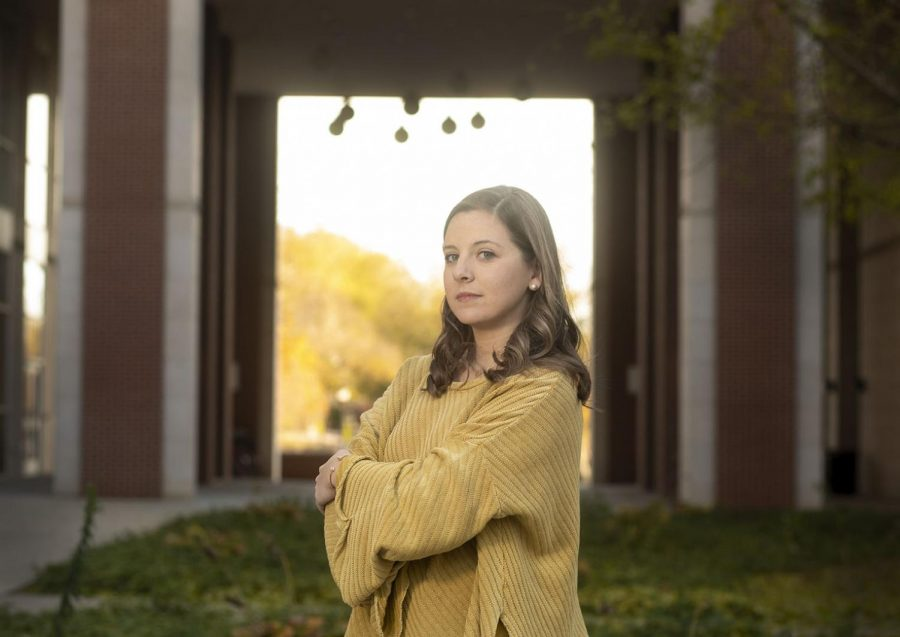 """Alumna Ellery Burkhead from Hopkinsville graduated with a degree in psychological science in May 2018. She did not know what she wanted to do, so she worked at a few places until she found her dream job at HopeBridge, an autism therapy center, in Bowling Green. """"I had the power to make my own path and to choose what career field I wanted to go into,"""" Burkhead said. She is now pursuing her master's in speech language pathology."""