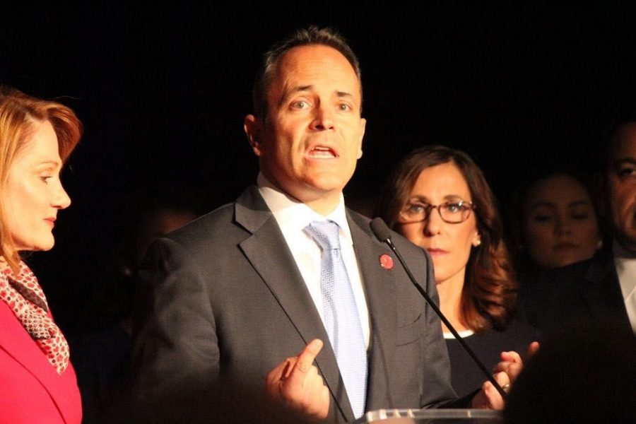 Matt Bevin refuses to concede following Andy Beshear's apparent victory in the gubernatorial race. Matt Stahl/HERALD