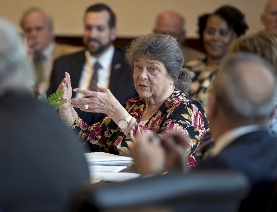 Barbara Burch served as Faculty Regent on the Board of Regents for three years from 2014 to 2017.