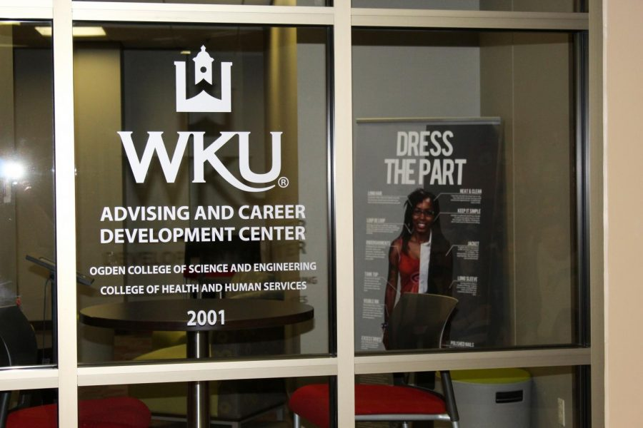 """WKU's Advising & Career Development Center helps students access things to assist with post-grad decisions including the """"Dress The Part"""