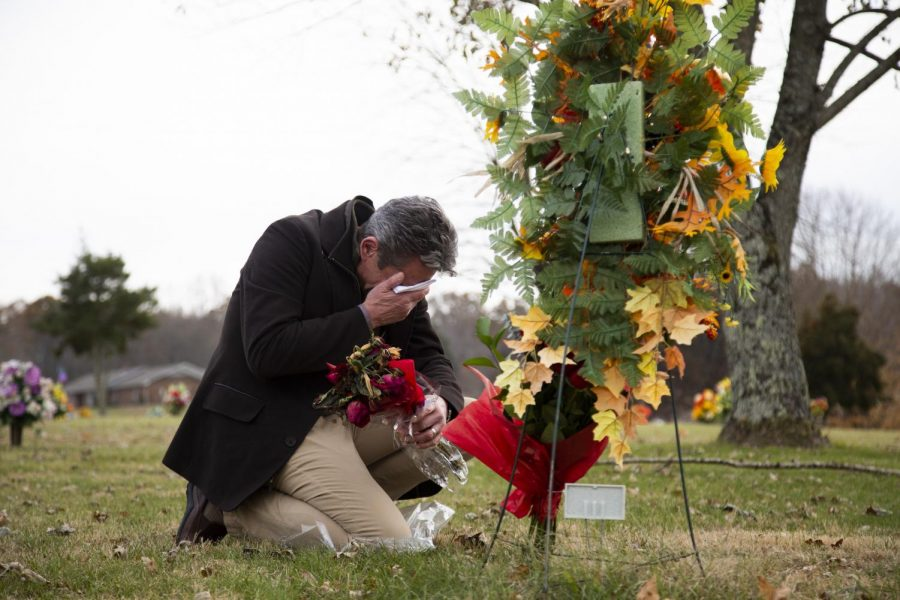Randall Davidson visits the grave of his wife, Megan, every Sunday. Youll never get over it, you dont want to, Davidson said, It changes you. Megan passed away unexpectedly in a car accident on July 29 2019, leaving Randall to raise their 8-year-old son.
