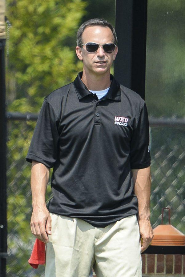 WKU Women's Soccer Coach Jason Neidell.