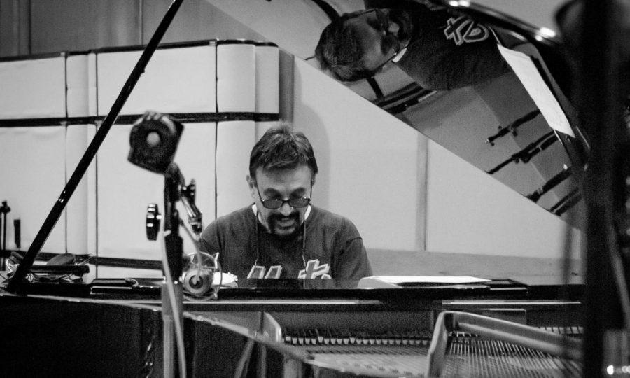 Mike Longo plays piano