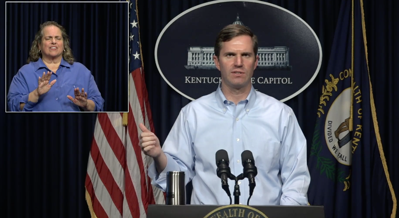 Beshear press conference 3/27