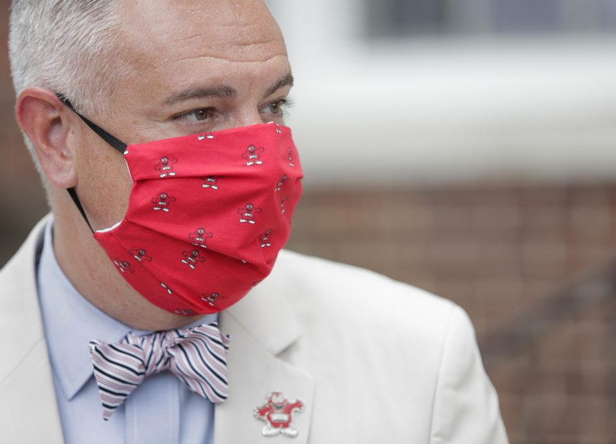 WKU+President+Timothy+Caboni+held+a+press+conference+on+May+28%2C+where+he+outlined+how+the+fall+2020+semester+will+look+with+the+ongoing+coronavirus+pandemic.