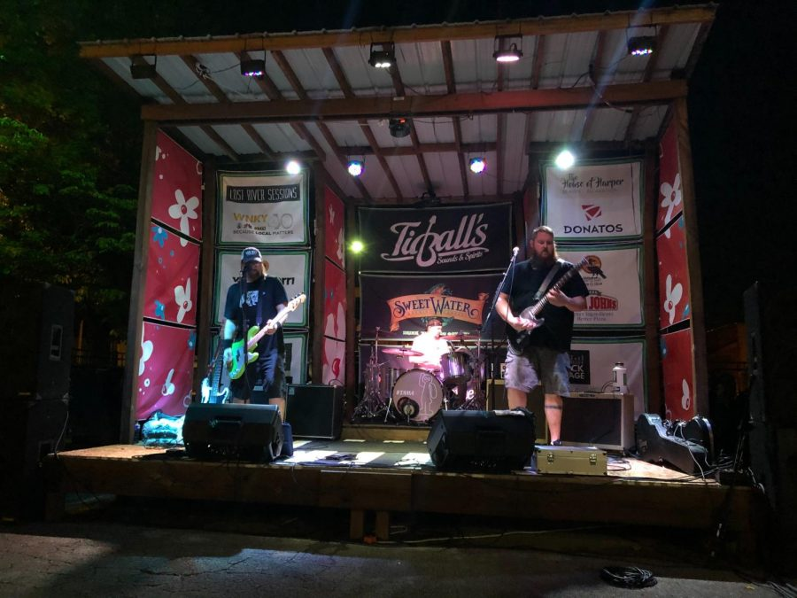 Tidball's held its first outdoor concert since the venue was closed due to COVID-19 on July 17, 2020.