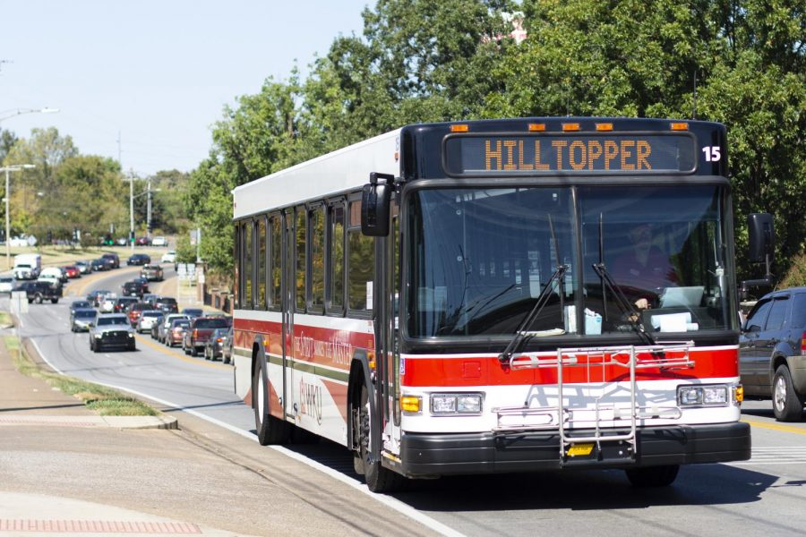 WKU students use the public transit buses to get to their destinations.