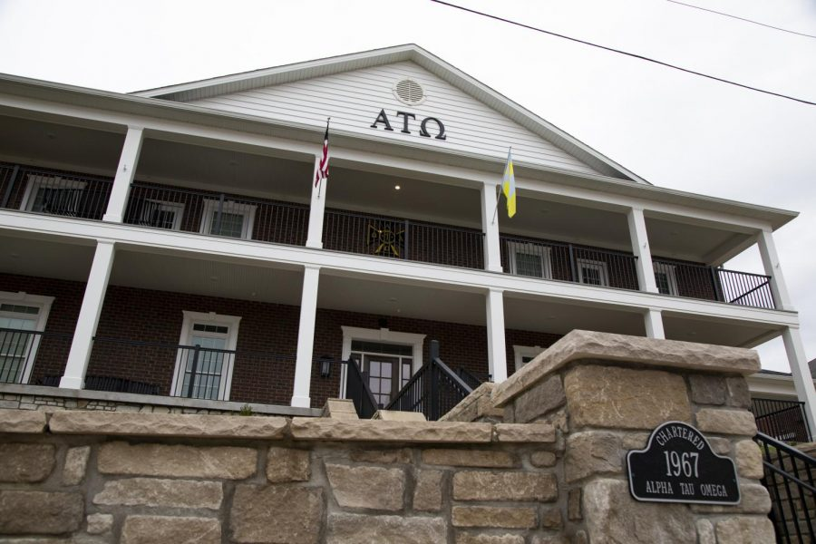 The+Alpha+Tau+Omega+house+fraternity+house+on+Center+Street.