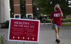 In fall 2020, signs had been placed around campus remind students how to be safe and stay healthy while on campus by wearing masks and social distancing from other students. The upcoming fall semester, students will not be told to wear masks or social distance.