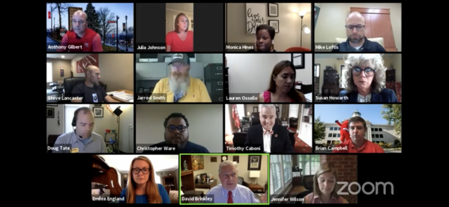 The faculty senate met over Zoom Sept. 3, 2020. Many expressed their concerns in relation to COVID-19.