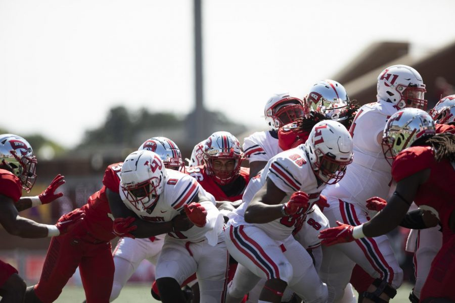 The WKU Hilltoppers hosted the Liberty University Flames for the season home opener on Sept. 19, 2020 in Houchens-Smith Stadium. The Hilltoppers lost to the Flames 30-24.