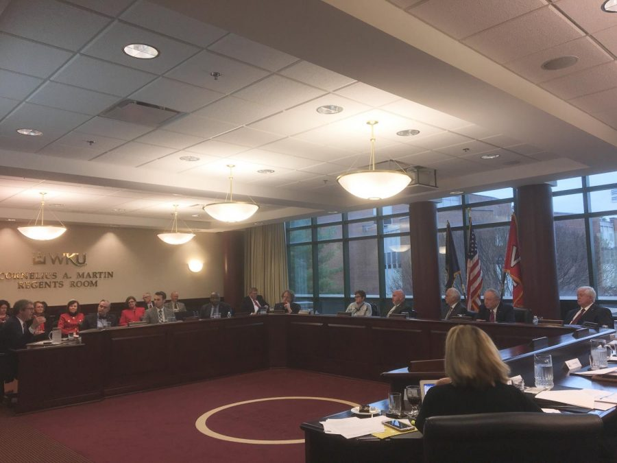 Board of Regents meeting from 2018
