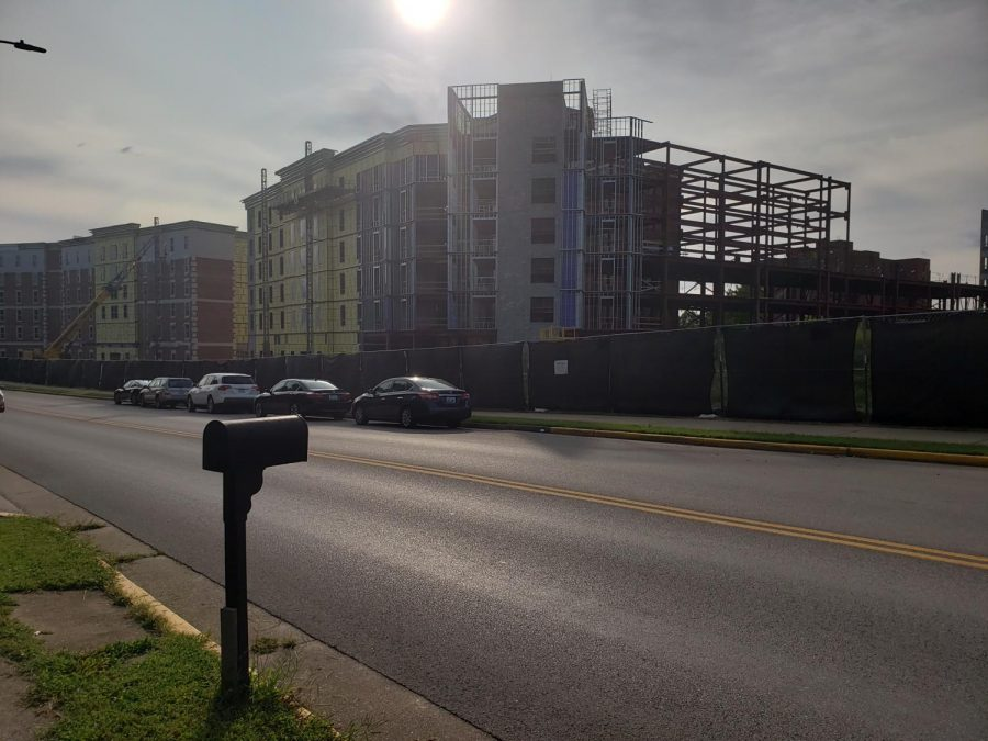 Construction of the first year village continues and is expected to be completed by Fall 2021