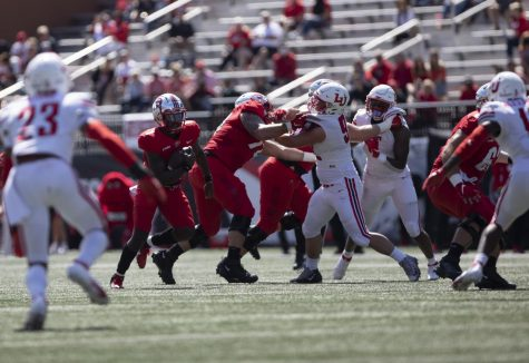 WKU quarterback Tyrrell Pigrome (1), breaks loose with the ball during the WKU home opener on Sept. 19, 2020.