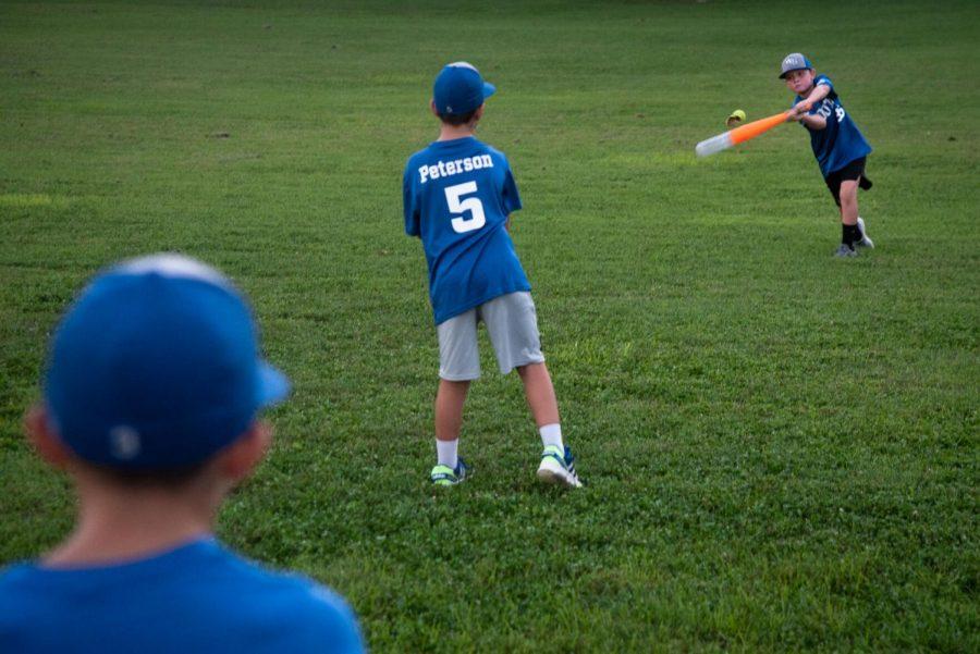 Boys+playing+baseball+in+Kereiakes+Park