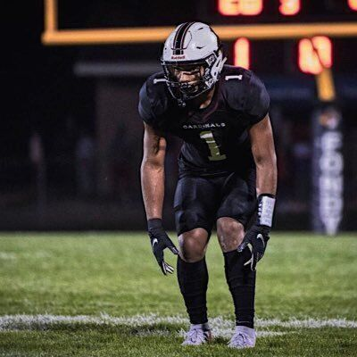 Four-star safety Braelon Allen, seen here playing for Fond du Lac, committed to the Badgers on Tuesday.