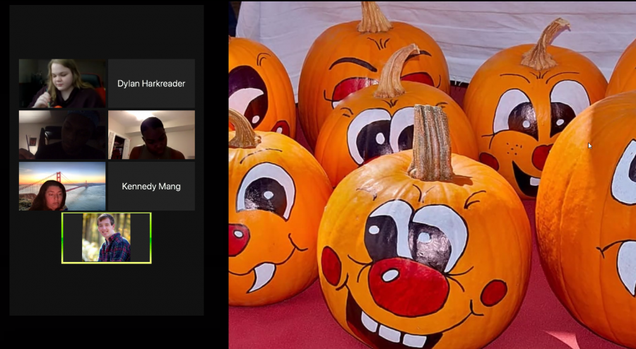 The RHA Virtual Fall Festival held via Zoom.