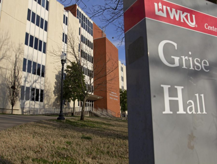 Grise Hall is home to the Gordon Ford Business College at Western Kentucky University and holds the office of Julie Shadoan, program coordinator of paralegal studies. Shadoan and a committee of 30 people examined the information presented by Gray Associates.