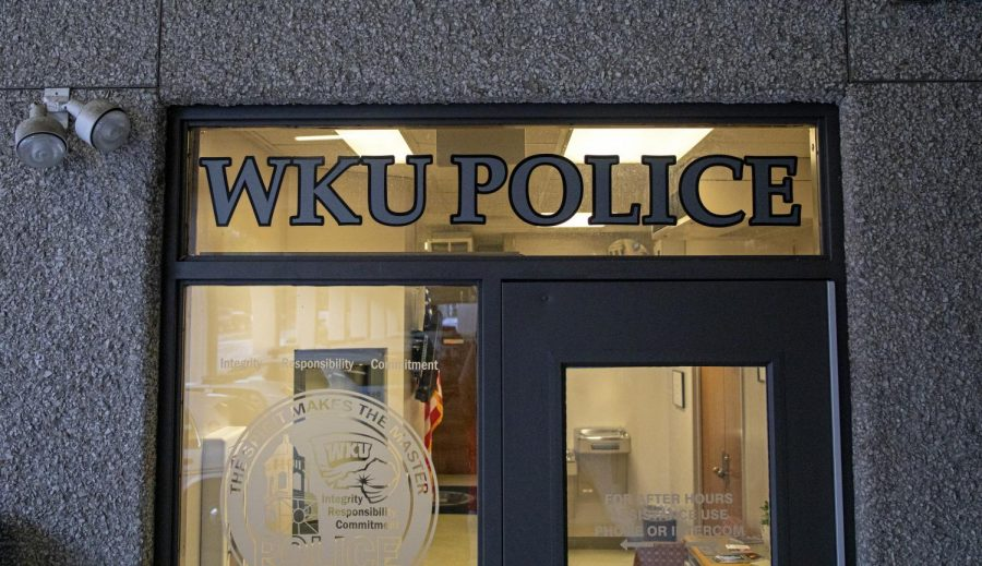 The front office of the WKU Police Department on Aug. 26, 2019. The WKU Police Department has begun a complete transformation for the start of the fall 2019 semester.The renovations are meant to improve morale within the department, starting with cosmetic improvements.