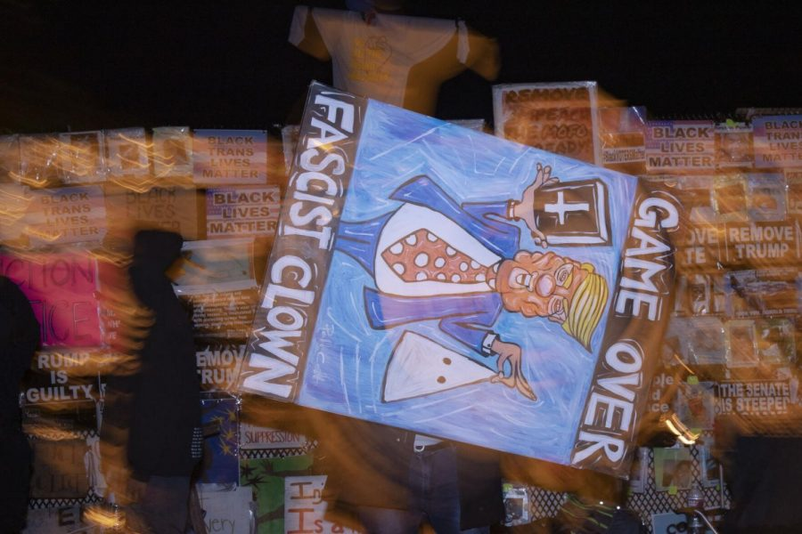 Los Angeles native Pablo Castillo spins a painting