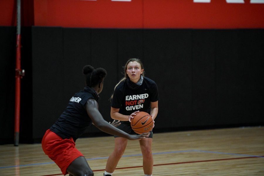 WKU Hilltoppers holds practice at E.A. Diddle Arena on September 13, 2020 Bowling Green, KY