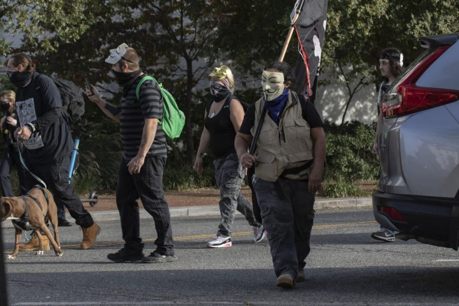 Members+of+the+Anonymous+activist+group+arrive+at+the+Republican+National+Committee