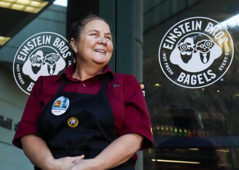 Sandra Hurley has dedicated much of her life to working with Einstein Bros. Bagels as an employee for the last 15 years at Western Kentucky University. Hurley said she has always enjoyed seeing the students at WKU grow up and graduate.