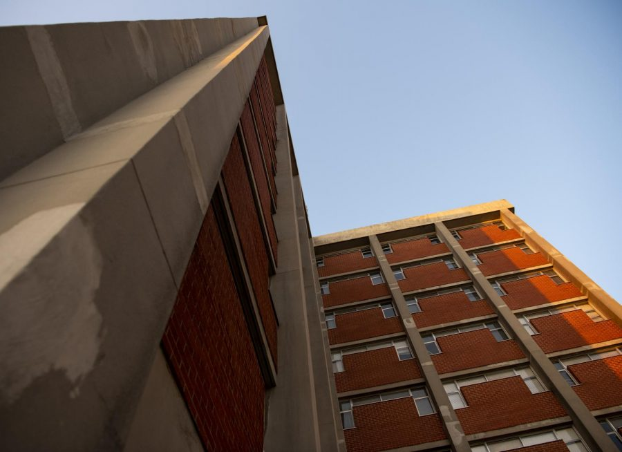 Photo of Barnes Campbell Hall where WKU student who choose to remain campus for quarantine stay.