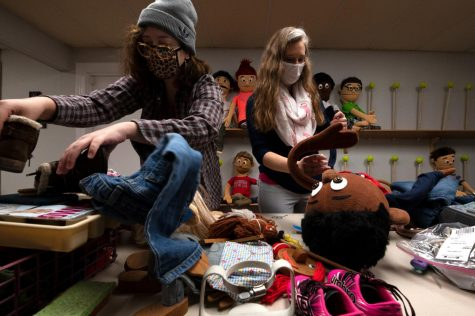 Kids on the Block is a nationwide child education service who uses puppets to teach kids about things like child abuse, substance abuse, and bullying.