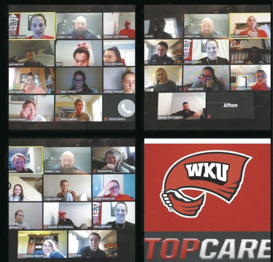 TOPCARE Psychological Skills Coaching session with WKU Soccer via zoom.