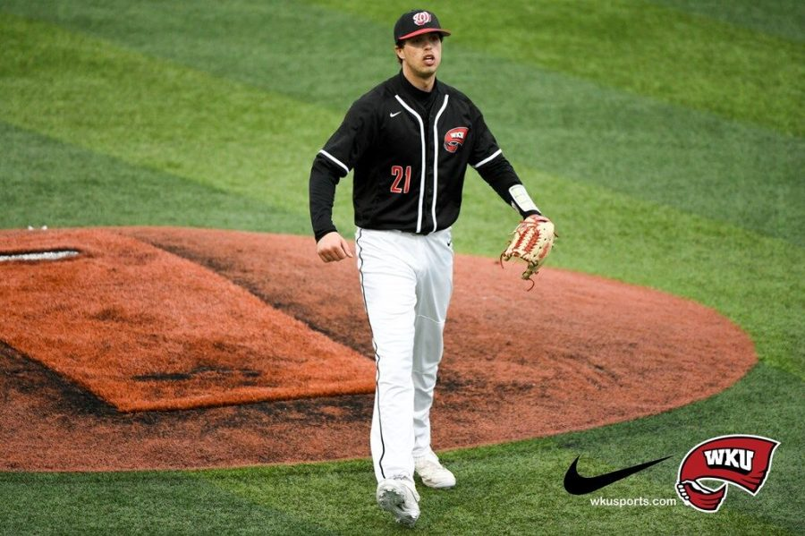 Redshirt sophomore Jake Kates pitched in his first start of the season against the Cincinnati Bearcats. The Cincinnati native struck out 11 Bearcat batters during his seven inning outing.
