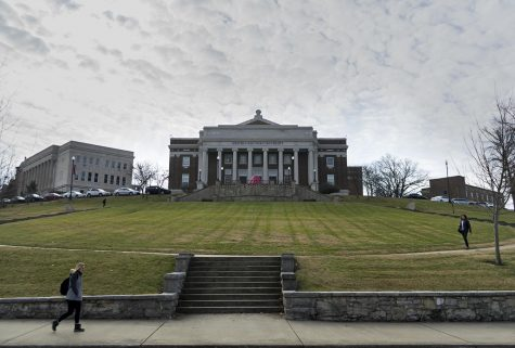 The university doesn't plan to pursue any building or college name changes including removing Robert Ogden of Ogden College, Pleasant J. Potter of Potter College and Charles Vanmeter of Vanmeter Hall. All three figures have ties to slavery as detailed in the report by the Naming and Symbols Task Force.