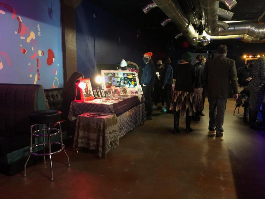 The Maker's Market in full swing at Donna's Bar in Downtown Bowling Green on Sunday, Feb 7.