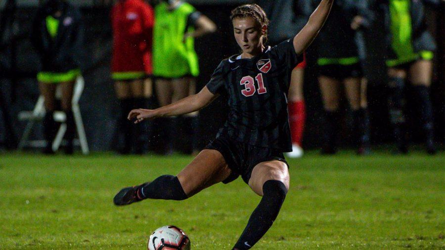 WKU freshman Annah Hopkins.