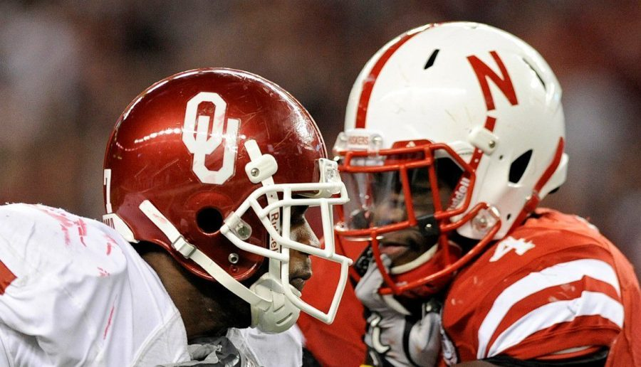 Nebraska and Oklahoma last met on the gridiron in the 2010 Big 12 championship game in Texas.