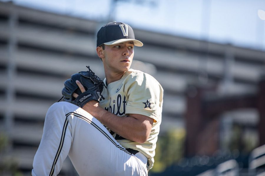 Vanderbilt sophomore pitcher Jack Leiter carries a 5-0 record into the series against Missouri. Leiter has allowed an impressive .076 batting average against this season.