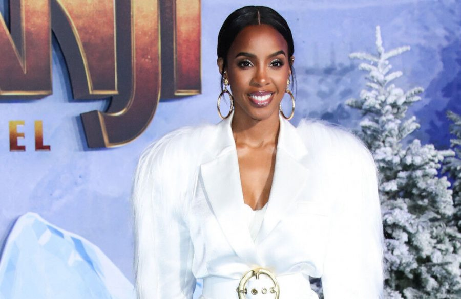 Kelly+Rowland+gave+birth+over+Zoom+with+family+watching