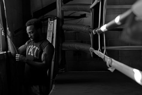 """The progress its taken for Mason to go from training to coaching at BGKY Boxing is something that cannot be replicated without hard work and determination. """"You gotta be willing to humble yourself. You gotta be willing to take it slow. Its not something that you rush into, Mason said."""