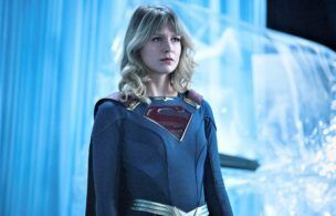 """Supergirl -- """"Rebirth"""" -- Image Number: SPG601A_0057r -- Pictured: Melissa Benoist as Supergirl -- Photo: Dean Buscher/The CW -- © 2021 The CW Network, LLC. All Rights Reserved."""
