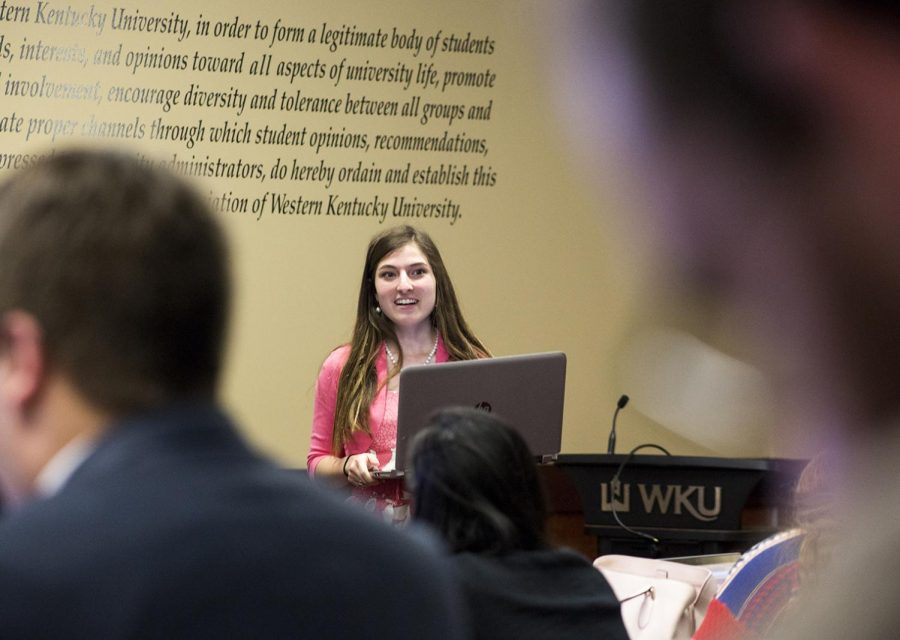 SGA met on March 20 to discuss upcoming events on campus and to finalize bills from the previous meeting. President of SGA Andi Dahmer gave a report at the meeting on current events on campus and upcoming bills to be passed at later meetings.
