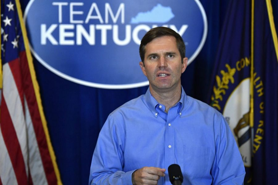 Kentucky+Governor+Andy+Beshear+addresses+the+media+in+this+file+photo+following+the+return+of+a+grand+jury+investigation+into+the+death+of+Breonna+Taylor+at+the+Kentucky+State+Capitol+in+Frankfort%2C+Ky.%2C+on+Sept.+23%2C+2020.