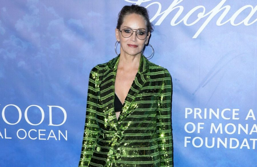 Sharon Stone's late grandmother visited her in hospital